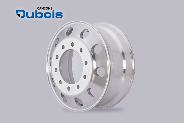 Roues aluminium 22.5x8.25