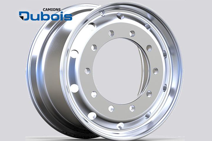 Roues aluminium flatface 22.5x9.00