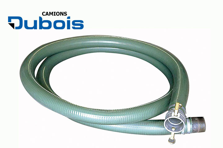 Suction fill hose.