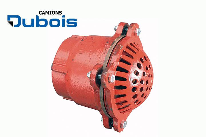 Suction hose foot valve.