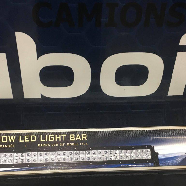 """Bar de lumière 32 """" DEL double rangée"""